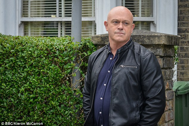 Wedding day guest: Ross Kemp is set to be one of the many stars attending Danny and Joanne's wedding this weekend