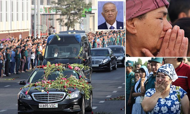 Uzbekistan's hard man president Islam Karimov dies at 78 and in the wings to replace him