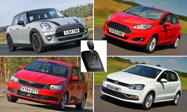 The 5 best small cars with automatic gearboxes