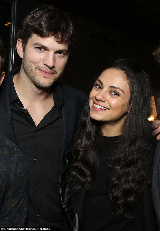 Their story: In April 2012, Mila and Ashton started dating.They were engaged in February 2014, before officially marrying in July 2015. They are pictured together in March
