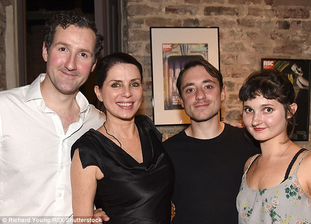 Celebrating: John Hollingworth, Sadie, Ray Sampson and Ruby Bentall celebrated the new show at the afterparty