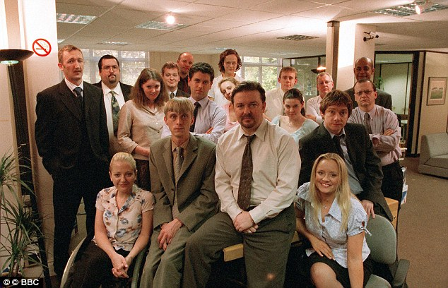 Gervais won critical and popular claim as the Brent character in the office 15 years ago