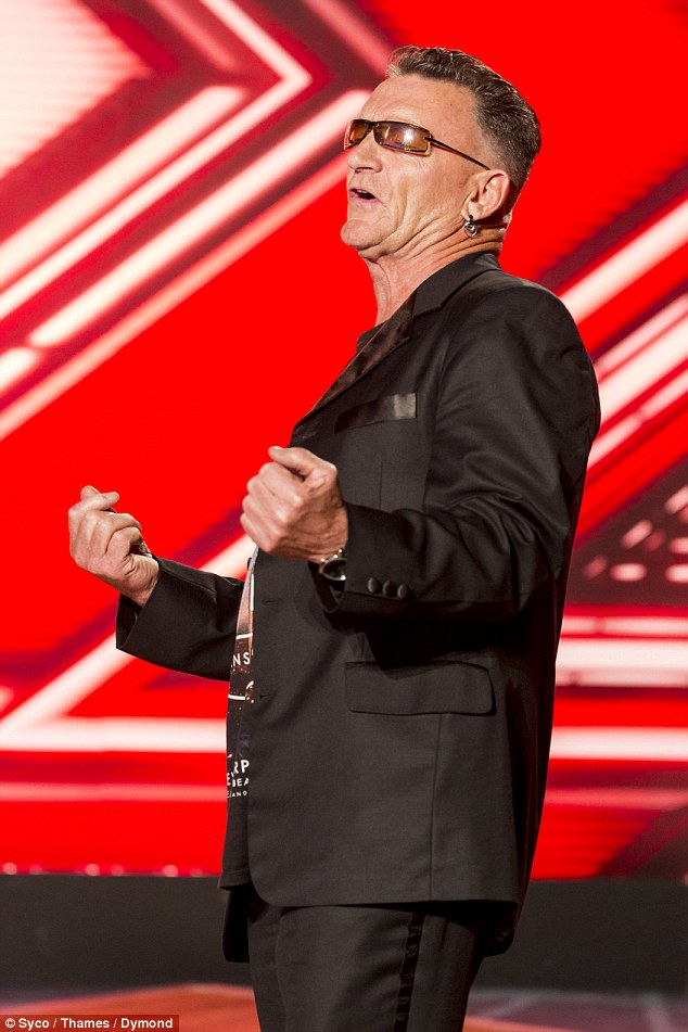 Nice to see U-2:Bono lookalike Peter Brennan had all the judges scratching their heads