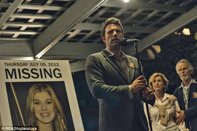 Box office success: Gone Girl was the pair's biggest hit, earning a whopping $US369 million at the box office with a budget of a comparatively small $US61 million budget