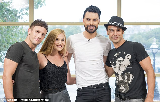 X Factor reunion: Same Difference made a surprise return to TV screens on Friday's episode of This Morning, joining showbiz correspondent Rylan Clark and fellow blast from the past Chico Slimani