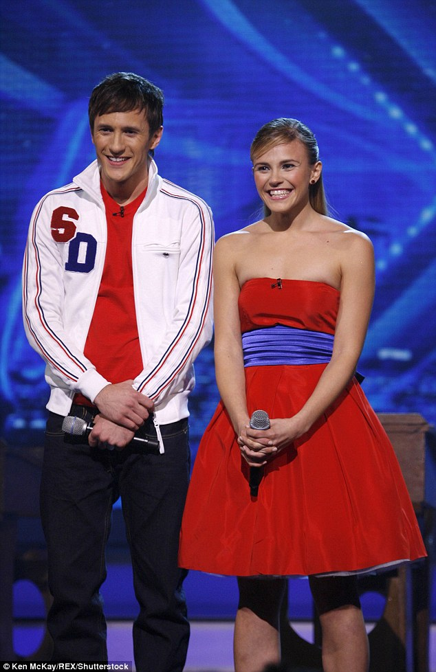 Sugar sweet act: Sean, now 30, and Sarah, 27, were famously branded 'potentially two of the most annoying people I've ever met' by show boss Simon Cowell