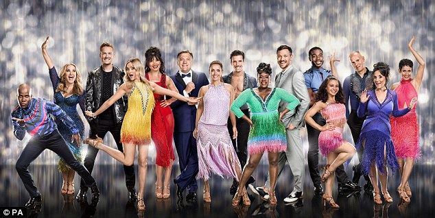 Katya is new to Strictly and will be paired with one of this year's male celebrities which include Ed Balls and Greg Rutherford