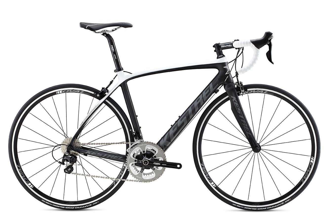 2015 Kestrel Legend Shimano 105 Charcoal/White Carbon Fiber Bike