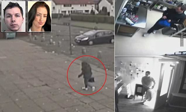 CCTV shows final moments of murdered schoolgirl Paige Doherty