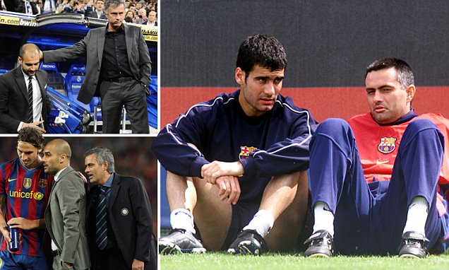 Pep Guardiola vs Jose Mourinho: Once close allies, now the best of enemies... what went