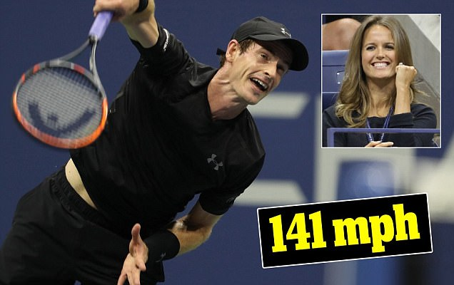 Andy Murray clocks his fastest ever serve as he blasts pastGrigor Dimitrov at US Open