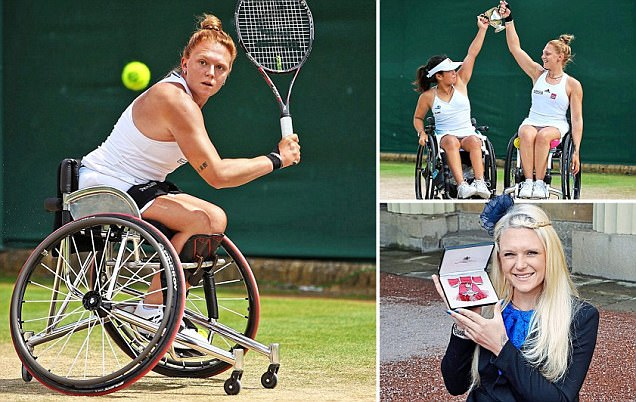 Jordanne Whiley is the straight-talking Paralympic gold-medal favourite who once thought