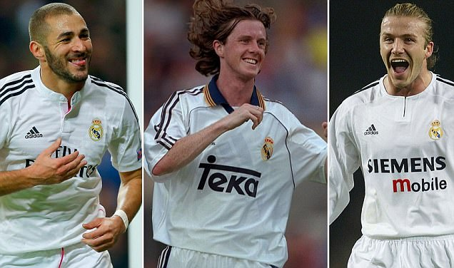 Real Madrid's 50 greatest players... Sportsmail picks numbers 50-41
