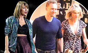 Tom Hiddleston asked Taylor Swift to Emmys but she's 'uncomfortable'