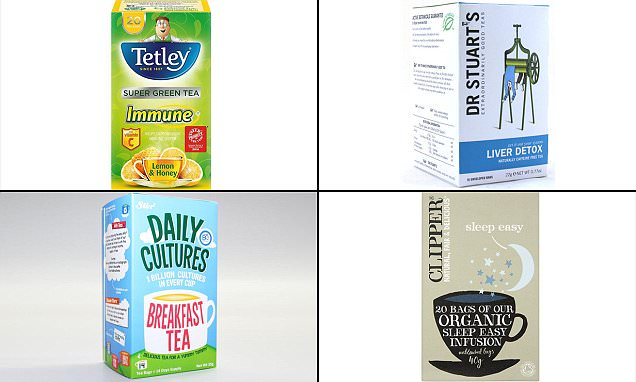 NHS expert reveals the best detox brews in your local supermarket
