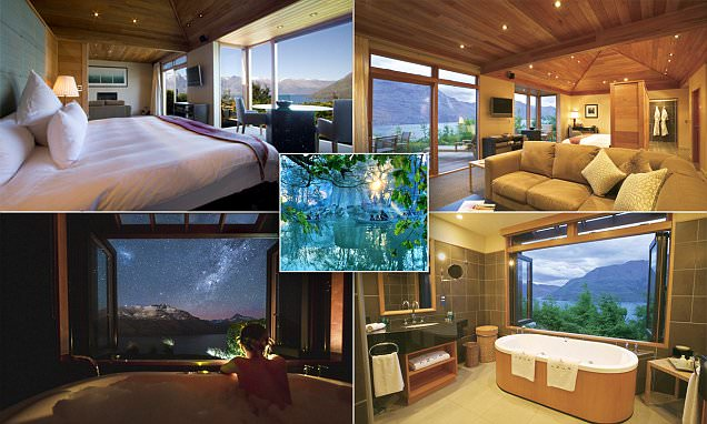 New Zealand lodge where you can gaze upon the landscape that inspired  Peter Jackson's