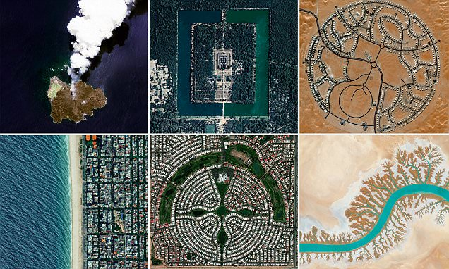 Incredible aerial photos show Earth as you've never seen it before