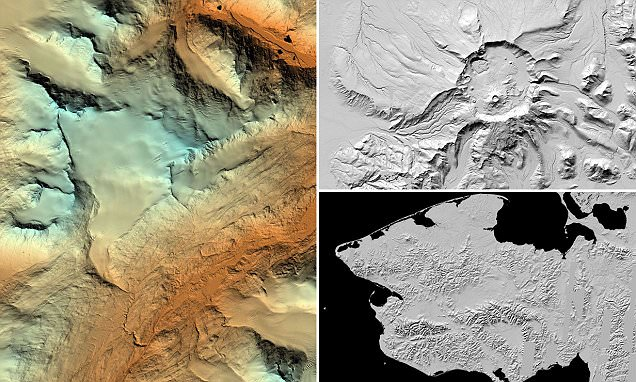 White House unveils stunning 3D maps of Alaska as part of project to track climate change