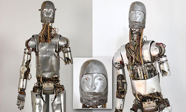 Terrifying 1965 PDAD humanoid used to test spacesuits will be offered at auction