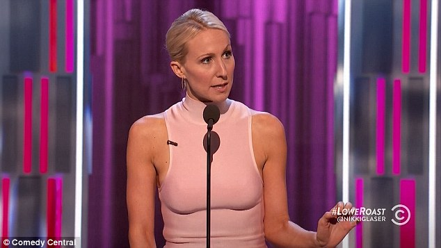 Meow: Before turning her attention to Lowe, Nikki Glaser threw a few jabs at Jewel - or as she likes to call her 'Trailer Swift'.