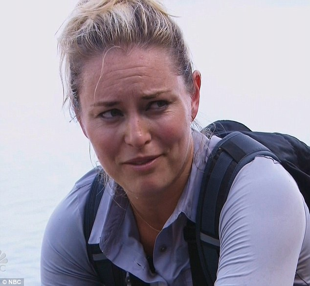 Once bitten: Tiger Woods' ex Lindsey Vonn said she will probably never marry again on Running Wild With Bear Grylls on Monday