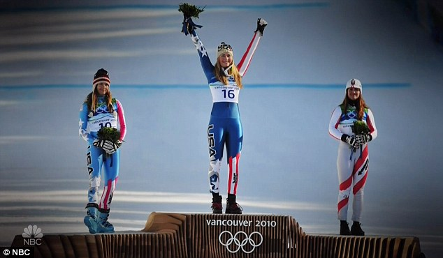 Pinnacle: She finally won a gold medal at the Vancouver Olympics in 2010