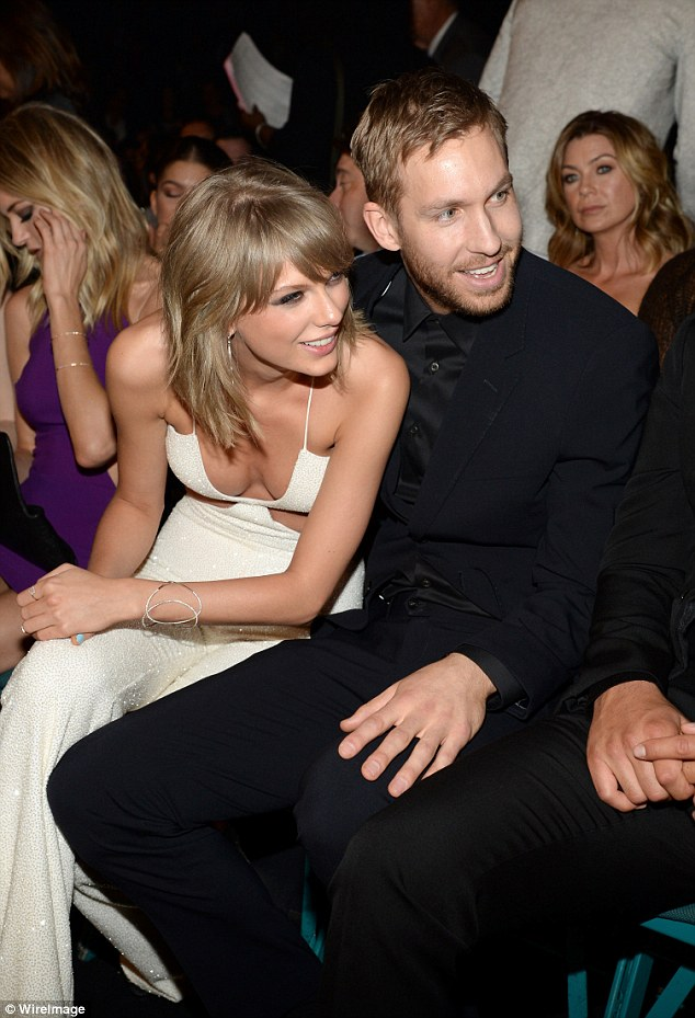 Case of the ex: The DJ dated ex Taylor for 15 months, but confirmed their split on Twitter this past June (pictured at the 2015 Billboard Music Awards)