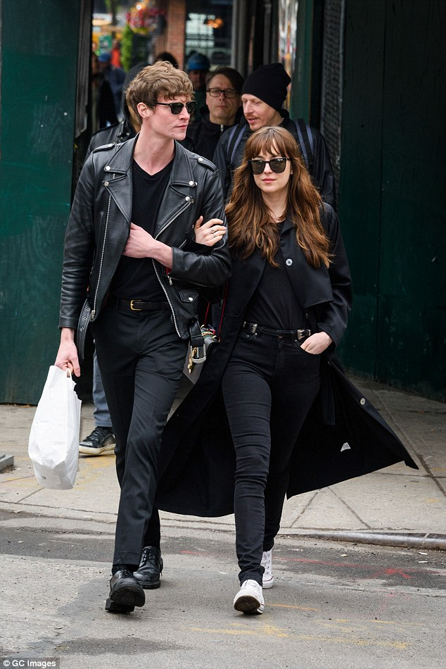 No more as well:Dakota and the rocker split in June after two years of dating (pictured in May)
