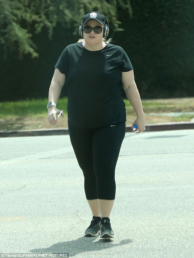 Getting in the zone:Rebel Wilson looked ready for action on Monday as she was seen hiking in Los Feliz on Labor Day