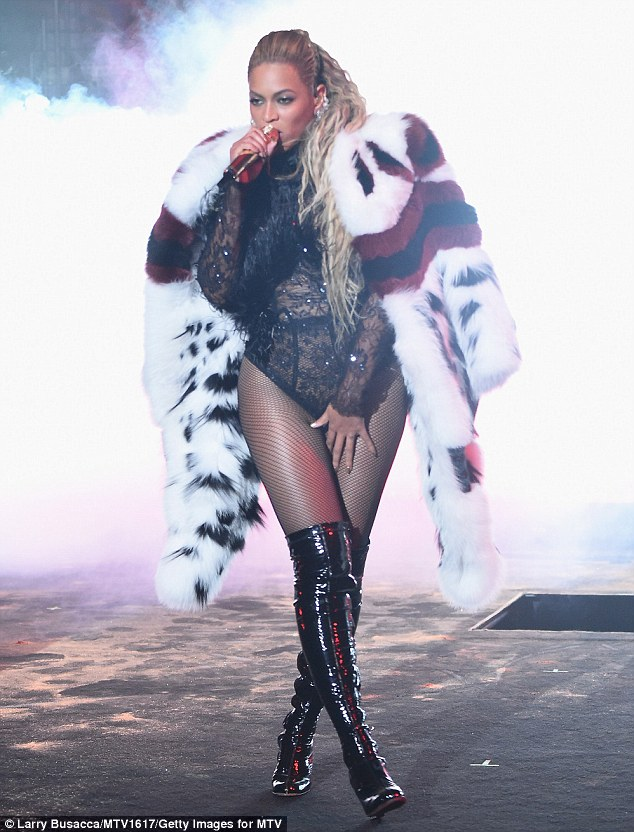 Not perfect: The pop diva's health woes came the day after she celebrated her 35th birthday (in signature slay way) with an epic weekend of privilege and political intrigue (pictured August 28)