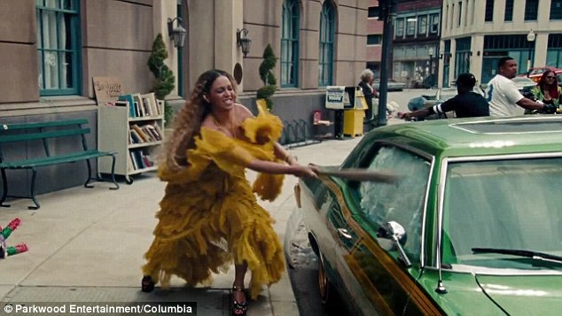Amassed 3.9M views! Sunday also marked the premiere of the Ivy Park designer's Hold Up music video co-directed with Jonas Åkerlund from her one-hour 'visual album' Lemonade