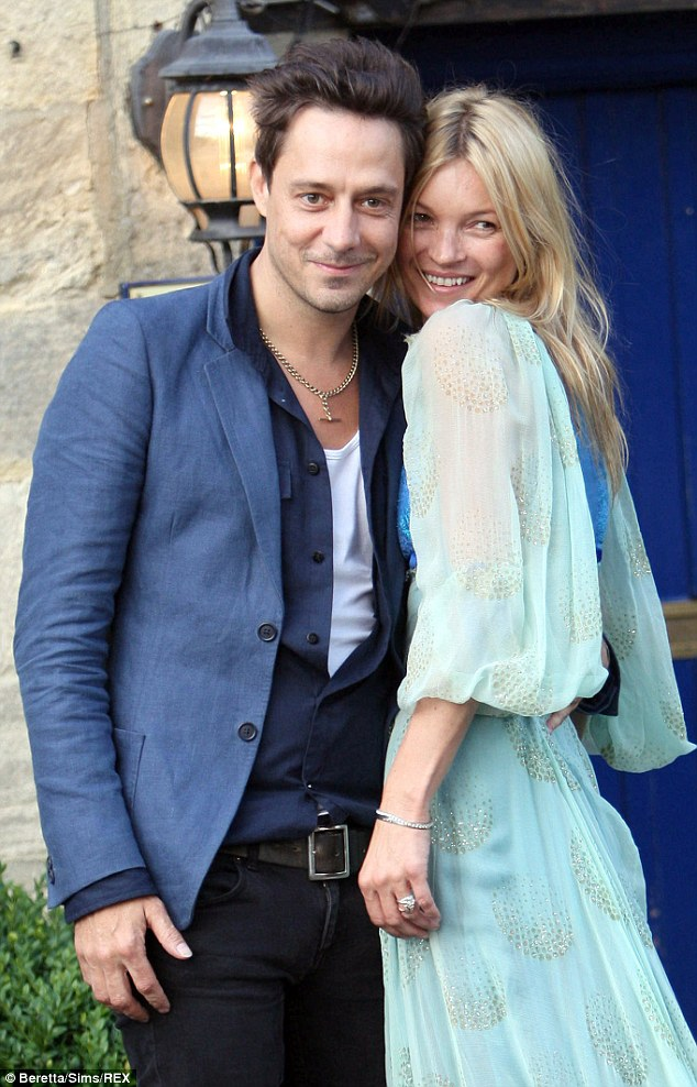 Split:If Kate is engaged, the star will have to wait a while before tying the knot, as she is still legally married to The Kills guitarist Jamie