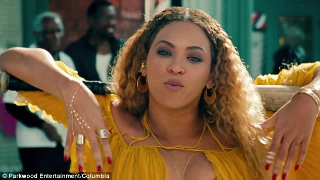 B-Day pressie: Beyonce released her car-smashing music video for Hold Up to mark her 35th birthday on Sunday