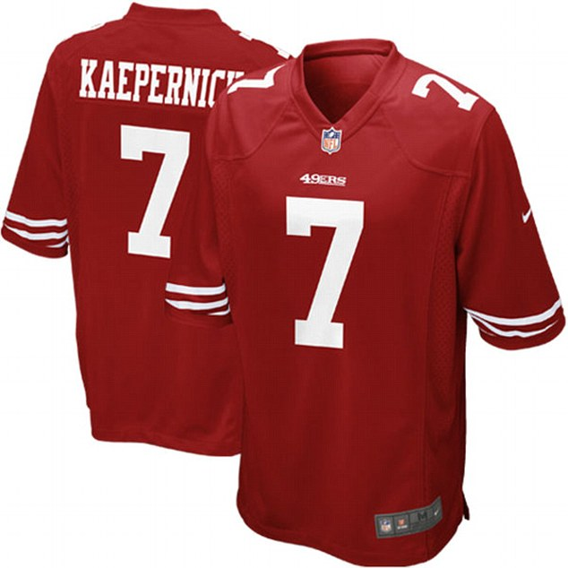 Skyrocketing sales also made his number 7 jersey the fifth most popular in the entire league