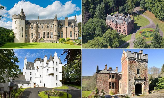 Ten castles for sale in UK now - and one thing that's not medieval is the price