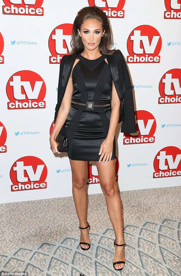 Vixen:Opting for a smoky eye and voluminous bouffant hairstyle, the TOWIE babe looked incredibly sexy as she posed at the event