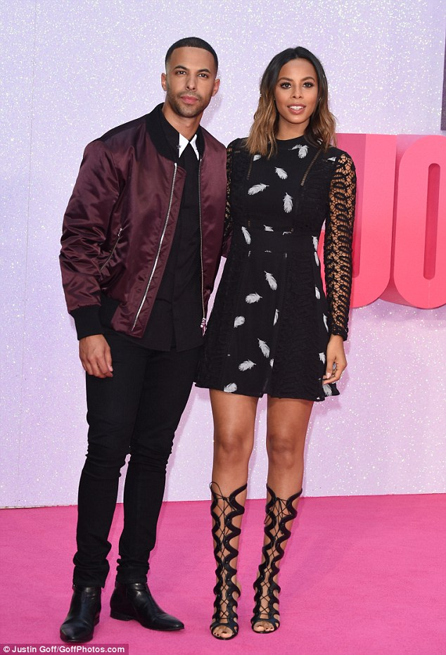 Power couple: They stylish duo looked every inch the chic power couple as they put in an appearance for the long-awaited third installment of the hit film