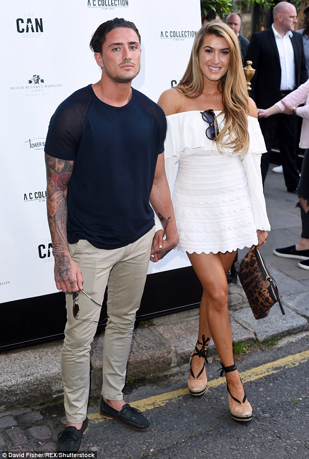 Happier times... Things all began for the couple in the Ex On The Beach house