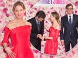 "PARIS, FRANCE - SEPTEMBER 06:  Actress Renee Zellweger attends the ""Bridget Jones Baby"" Paris Premiere, at the Grand Rex on September 6, 2016 in Paris, France.  (Photo by Stephane Cardinale - Corbis/Corbis via Getty Images)"