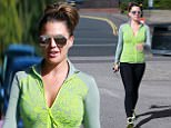 ***BYLINE: MELMEDIA*** \nFormer WAG Danielle Lloyd visits Evolve inch loss centre and has a session on the Aqua Massager , Birmingham.  06/09/16\n***BYLINE: MELMEDIA***\nPLEASE NOTE ALL SALES WILL BE HANDLED BY MELANIE WHITEHEAD at MELMEDIA PLEASE CONTACT MELANIE WHITEHEAD on 07711700105 e-mail: mel.media.123@gmail.com\n