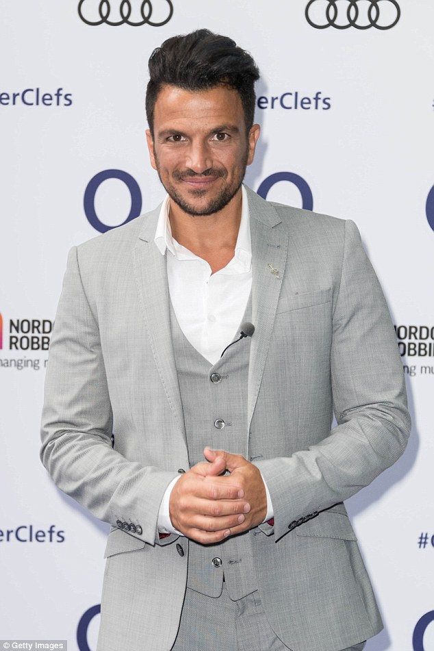 'It's about compromise': Despite his initial misgivings abut Katie Price's parental decision, Peter Andre has revealed that the couple are now 'working together' on an online compromise