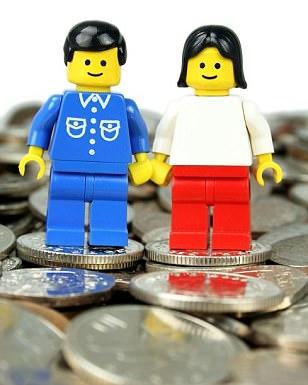 Lego money