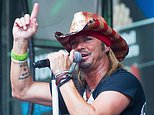 FILE - In this July 10, 2015 file photo, Bret Michaels performs at 'FOX and Friends' All American Summer Concert Series in New York. x-Poison frontman Michaels says two thieves stole his cellphone while he was onstage during a recent performance in New Hampshire. A post on Michaels' Facebook page on Friday, Sept. 2, 2016, said the phone and other electronics were taken from the rocker's dressing room during a concert at Hampton Beach Casino Ballroom on Sept. 1. (Photo by Charles Sykes/Invision/AP, File)