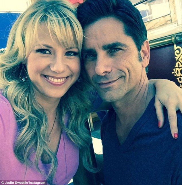 Jodie and John Stamos go way back to the original Full House.Sweetin is now starring in the Netflix show Fuller House, a revival of the 1990s show, Full House. Stamos is a recurring character