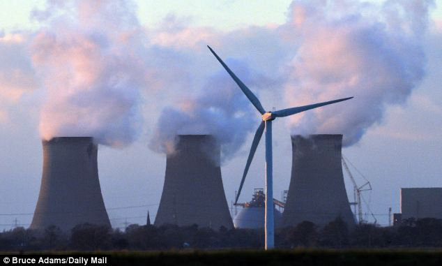 Accusation: Wind farms are 'blighting landscapes' across the UK, claims ex-Poet Laureate Sir Andrew Motion