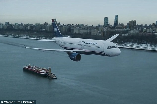 No one has ever trained for an incident like that': The clip showed the plane preparing to make the famous landing