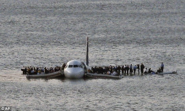 All 155 passengers and crew survived and the event was dubbed the 'Miracle on the Hudson'