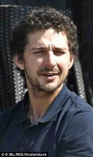 Similarities: Shia LaBeouf has revealed just how similar he is to tennis ace John McEnroe, who he is playing in a new movie