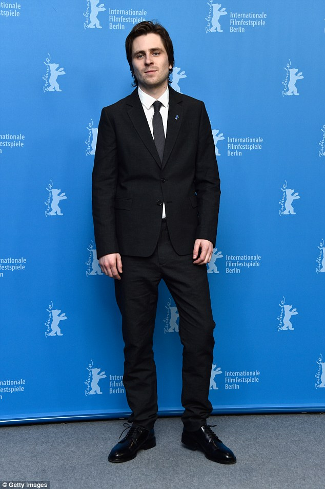 Rising star:The actor joins up and comer Sverrir Gudnason who will play Swedish icon Borg in the film, which centres around their 1980 Wimbledon final face-off