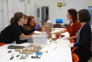 Small-group practical teaching in Cambridge's Museum of Archaeology & Anthropology